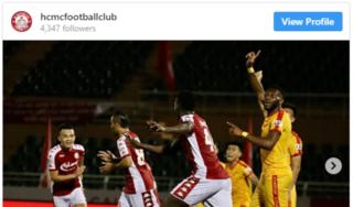 AFC ấn tượng với phong độ của CLB TP HCM ở V.League