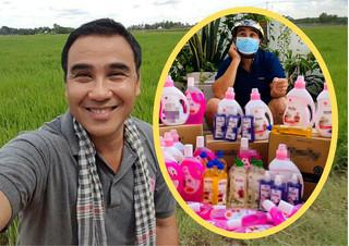 Ế show vì dịch Covid-19, Quyền Linh phải đi bán nước rửa chén