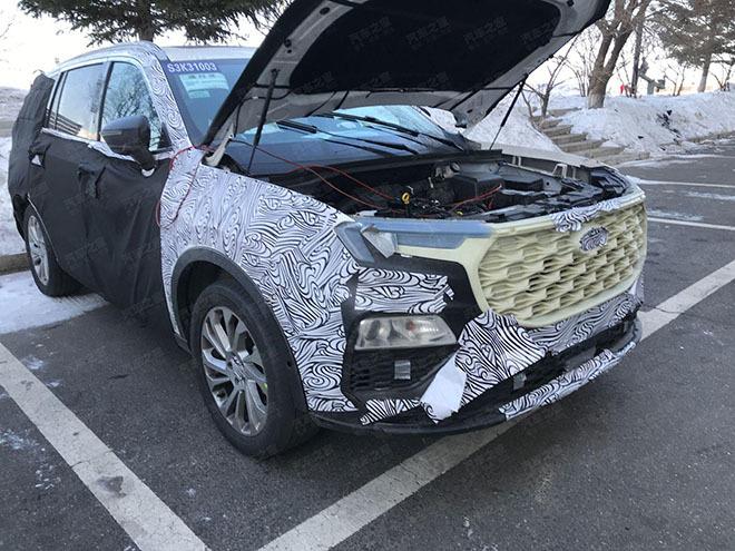 Ford Everest thế hệ mới lộ diện, nhiều trang bị cao cấp như xe sang2