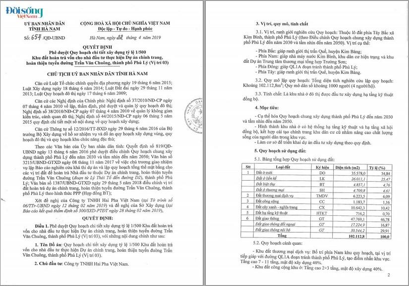 Đô thị Kim Bình – Hà Nam Rao bán lúa non01