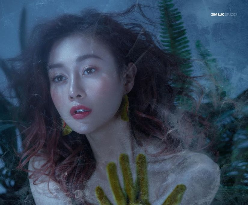 Diễn viên Phương Oanh đẹp kiêu sa trong concept ảnh độc đáo