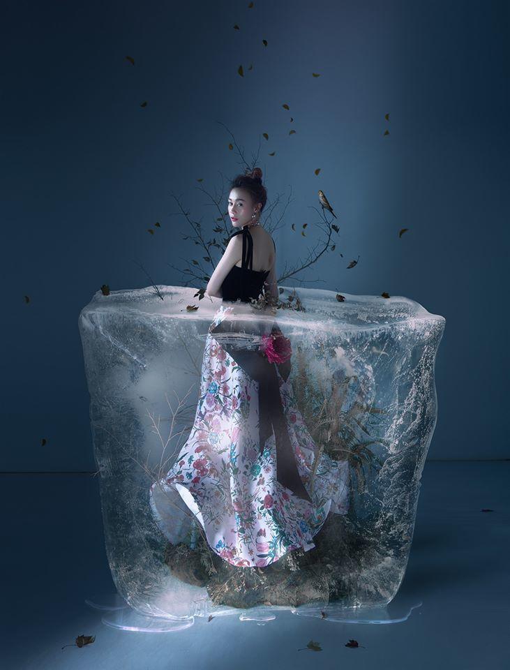 Diễn viên Phương Oanh đẹp kiêu sa trong concept ảnh độc đáo7