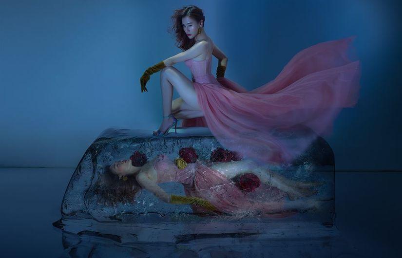 Diễn viên Phương Oanh đẹp kiêu sa trong concept ảnh độc đáo5