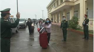 Nam Định: Hơn 100 người trở về từ Hàn Quốc hoàn thành thời gian cách ly