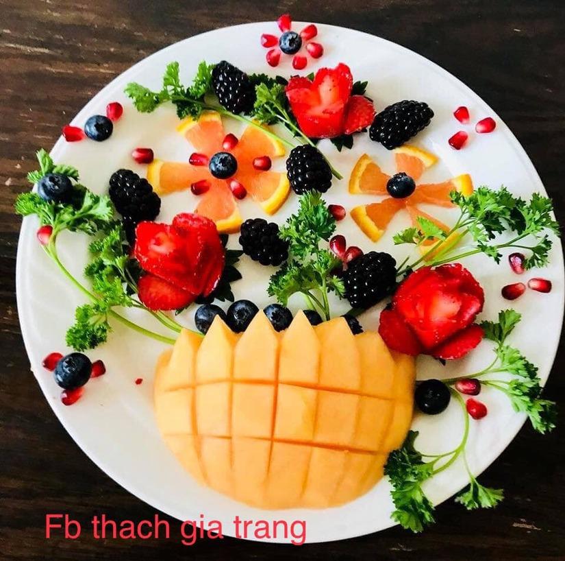 Mẹ trang trí món ăn siêu đẹp và đầy ý nghĩa khiến con mê mẩn11