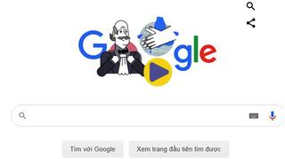 Google Doodle hôm nay 20/3 tôn vinh bác sỹ đầu tiên khuyên rửa tay