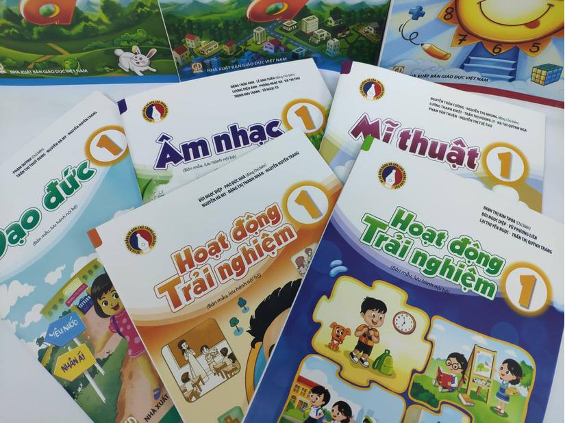 Cuốn sách giáo khoa lớp 1 mới đã được phê duyệt