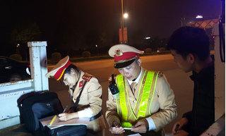 Lào Cai: Phạt 40 triệu đồng hai lái xe ô tô vi phạm nồng độ cồn