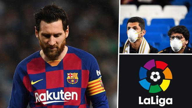 Giải La Liga hoãn vô thời hạn vì Covid-19
