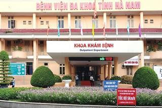 Hà Nam cách ly 12 cán bộ, nhân viên y tế của Bệnh viện Đa khoa tỉnh