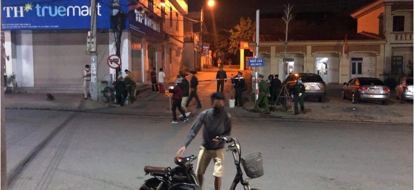 Lai Châu phong tỏa khu phố nơi bệnh nhân Covid-19 thứ 133 lưu trú