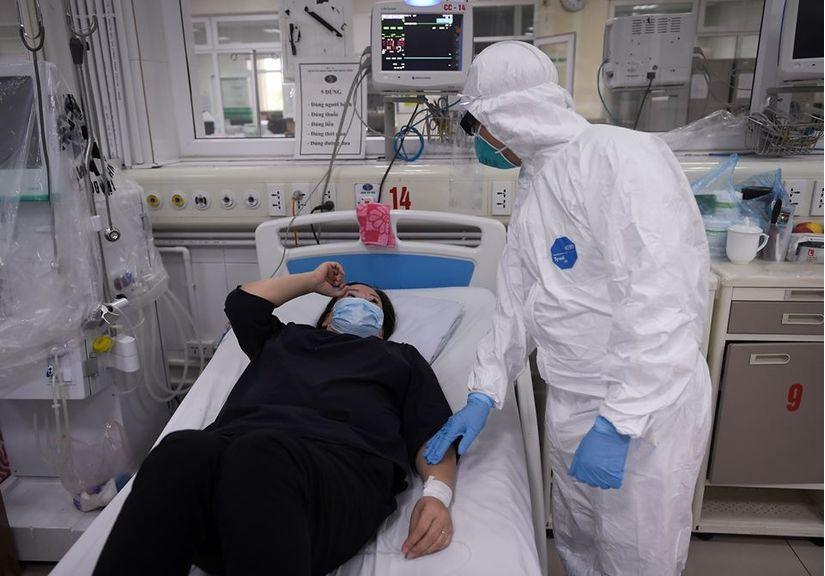 Bệnh nhân thứ 161 nhiễm Covid-19 diễn biến nặng