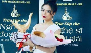 Hoàng Thùy Linh nói gì sau khi giành 4 giải thưởng Âm nhạc Cống hiến?