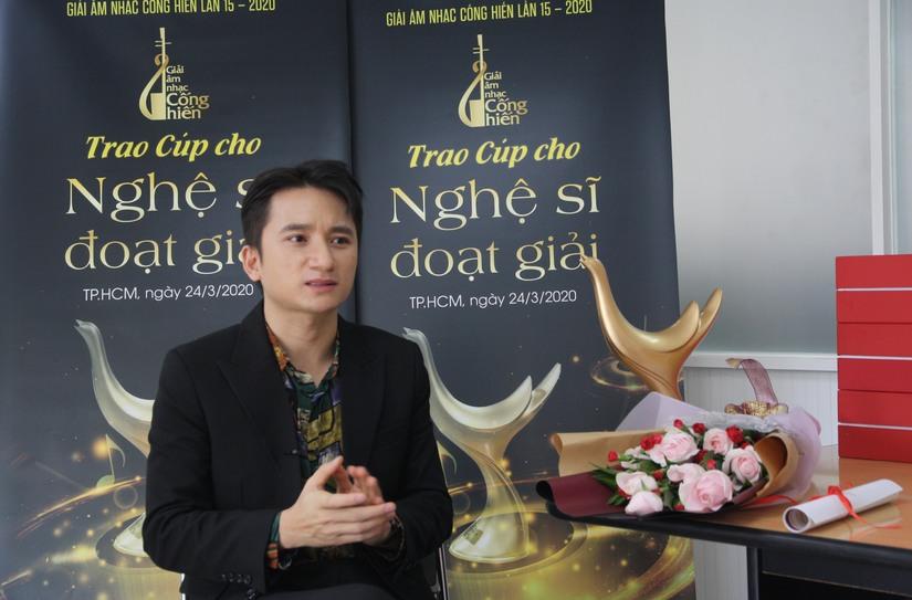 Nhạc sĩ Phan Mạnh Quỳnh: Hạnh phúc vì lần đầu được nhận giải thưởng lớn