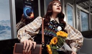 Chi Pu hóa quý cô công sở sành điệu cùng Louis Vuitton