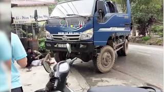 Yên Bái: Xe tải quay đầu cán tử vong người đàn ông