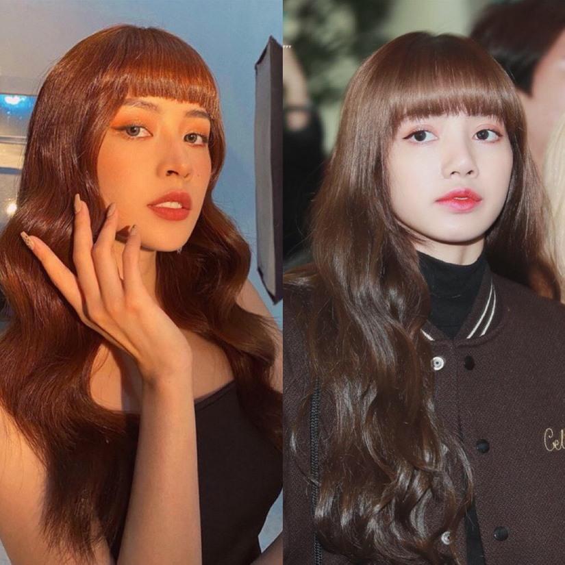 Bất ngờ đổi kiểu tóc, Chi Pu 'nhìn hao hao' Lisa (BLACKPINK), đụng hàng Châu Bùi