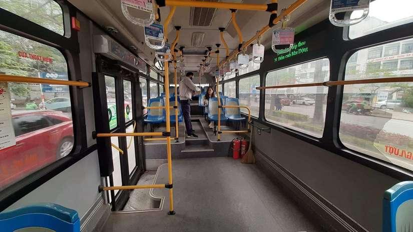Hà Nội giảm 80% chuyến lượt xe buýt từ ngày mai