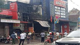 Hà Tĩnh: Cháy cửa hàng lúc rạng sáng, 2 ông cháu tử vong