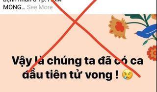 Triệu tập Facebooker tung tin TP.HCM có người chết vì dịch Covid-19
