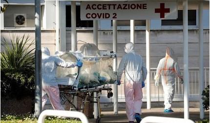 Số ca tử vong vì Covidi -19 của Ý vượt 10 nghìn người