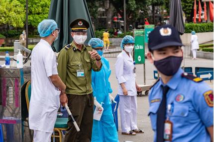Xác định nguồn lây 16 ca nhiễm Covid-19 tại Bệnh viện Bạch Mai