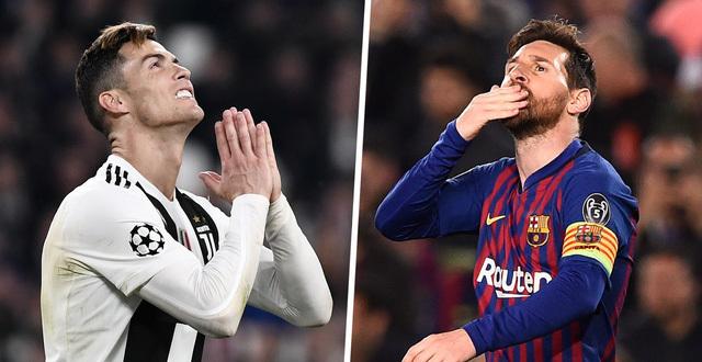 Ronaldo và Messi mất một số tiền khá lớn khi giảm lương
