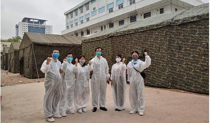 Bệnh viện Bạch Mai xây dựng bệnh viện dã chiến ngay trong khuôn viên