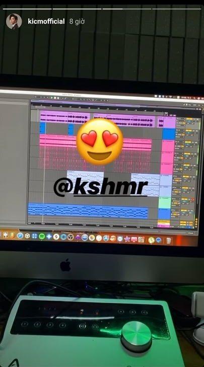 Nghi vấn K-ICM hợp tác với nam DJ nổi tiếng thế giới, quyết tâm có hit để đời