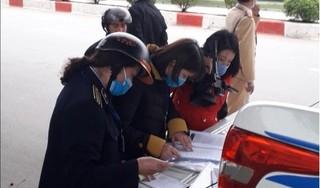 Lạng Sơn xử phạt hàng chục người không đeo khẩu trang nơi công cộng
