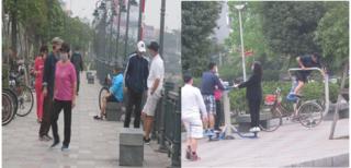 Mặc lệnh cách ly toàn xã hội, nhiều người dân Hải Phòng vẫn tụ tập chơi thể thao
