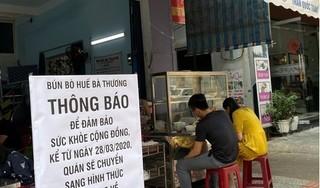 Đà Nẵng tạm dừng hoạt động buôn bán hàng ăn qua mạng
