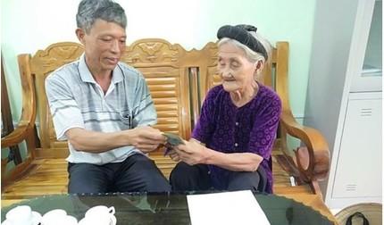 Cụ bà từng xin thoát nghèo ủng hộ tiền chống dịch Covid-19