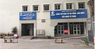 BV Hữu Nghị cách ly 15 người của Công ty Trường Sinh, phong toả căng tin
