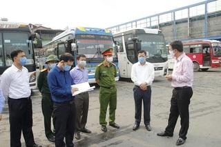 Nam Định tạm dừng toàn bộ hoạt động vận tải hành khách bằng xe ô tô