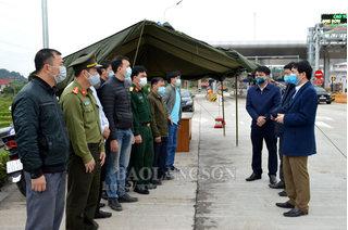 Từ ngày mai, Lạng Sơn lập 7 chốt kiểm dịch y tế chống dịch Covid-19
