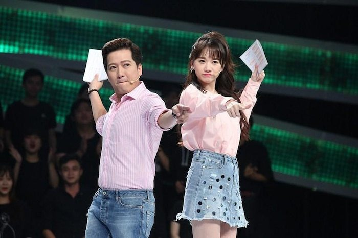 Hari Won bênh vực Nhã Phương khi bị Trường Giang 'kể xấu' trên sóng truyền hình
