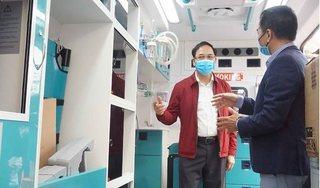 Quảng Ninh trang bị 3 xe cứu thương chuẩn quốc tế phòng chống dịch