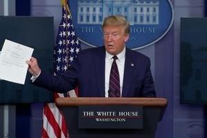 Tổng thống Trump âm tính lần 2 với Covid-19