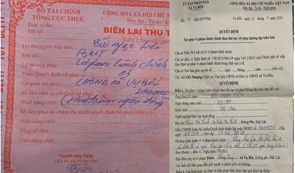 Xe tải chở thực phẩm bị phạt vì... tụ tập quá 2 người, huyện phải xin lỗi