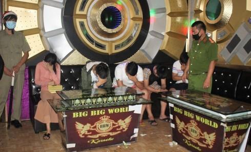 11 nam nữ tụ tập 'bay lắc' trong quán karaoke bất chấp dịch bệnh