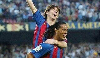 Xavi Hernandez: 'Chỉ có Messi là trên tài Ronaldinho'