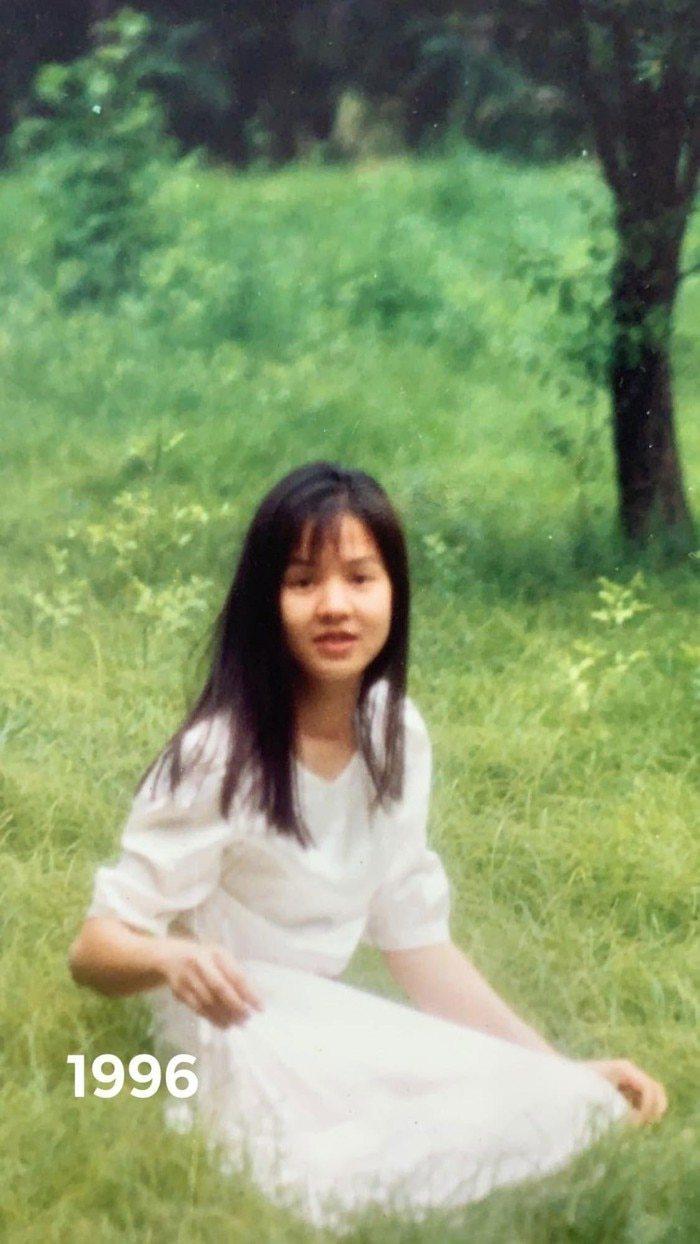 Hé lộ loạt ảnh thanh xuân gây 'thương nhớ' của MC Diễm Quỳnh