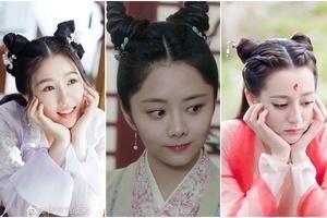 Kiểu tóc sừng dê, hot trend mới trong phim Trung Quốc