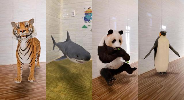 Danh sách các con vật xem được với Google 3D animals