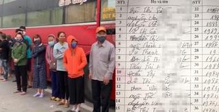 Lời khai báo gian dối của tài xế xe khách chở 30 người chạy xuyên Việt giữa dịch Covid-19