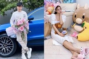 Fan 'soi' bằng chứng Chi Dân dự sinh nhật bạn gái tin đồn Ninh Dương Lan Ngọc