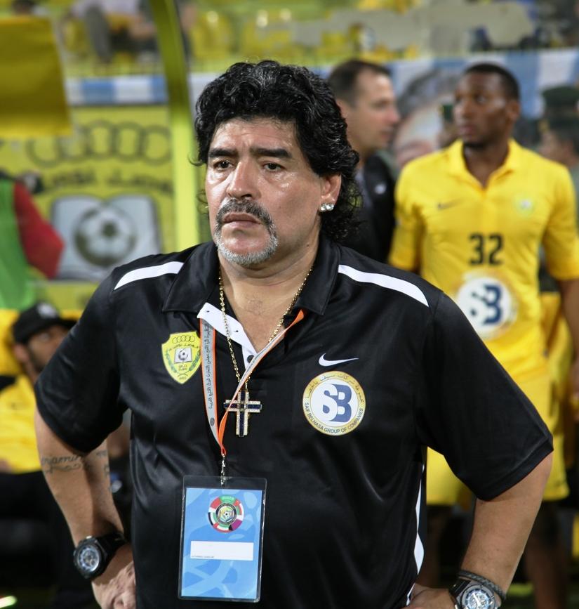 Cựu tiền đạo Maradona
