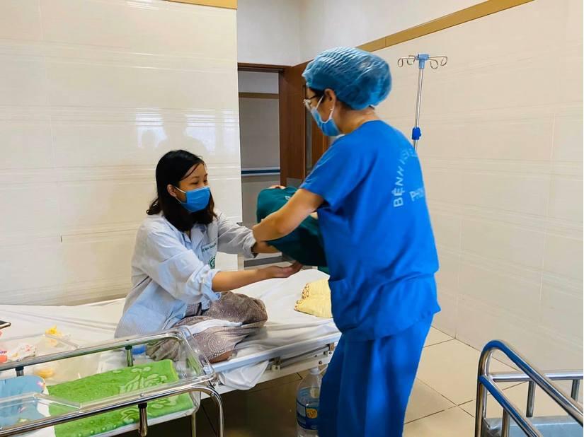 Chuyện về những em bé chào đời trong khu cách ly Bệnh viện Bạch Mai 3