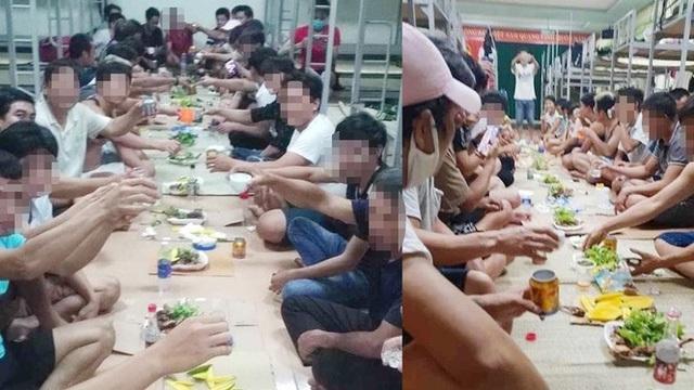Truy cứu trách nhiệm cán bộ sau vụ mở tiệc ăn nhậu trong khu cách ly